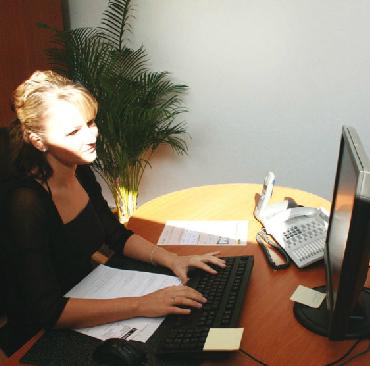 Blendung PC-Arbeitsplatz