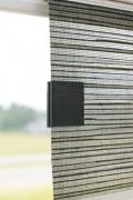 Magnetclip Bedienung Flächenvorhang - holz schwarz