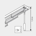 schiebevorhang messen messanleitung f r schiebevorh nge. Black Bedroom Furniture Sets. Home Design Ideas
