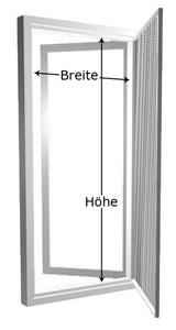 Gut Messen Fliegengitter - Anleitung für die Fliegengitter PW09