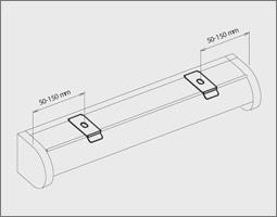 rollo montage montageanleitung mit klemmtr ger ohne bohren oder mit montageclip. Black Bedroom Furniture Sets. Home Design Ideas