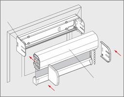 Bekannt Rollo Montage - Montageanleitung mit Klemmträger ohne bohren oder VB52