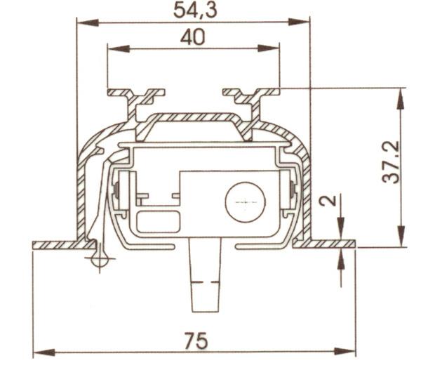 lamellenvorhang einbauprofil einbauzubeh r einzelteile. Black Bedroom Furniture Sets. Home Design Ideas